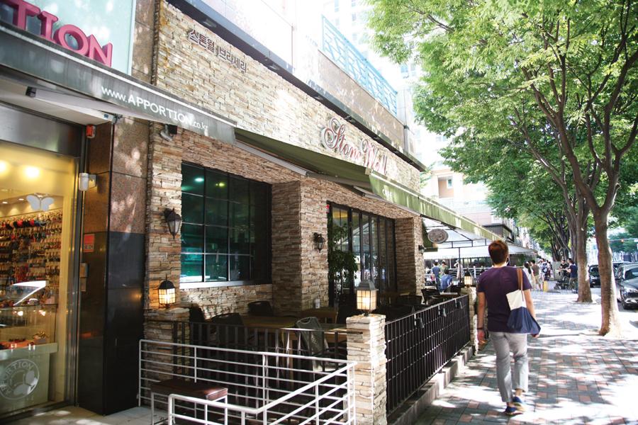9경 - 정자동 카페거리