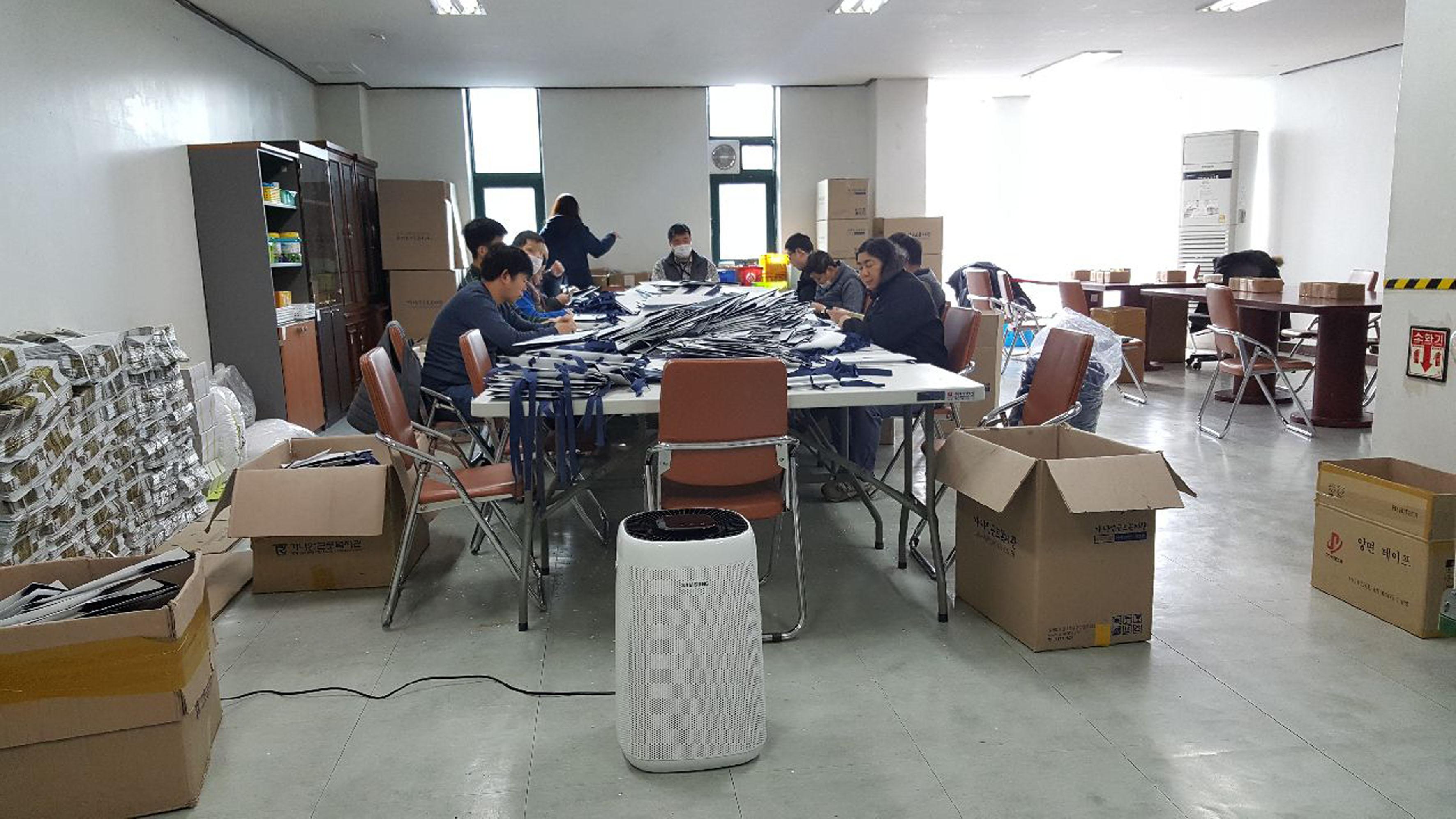 노약자 이용시설 456곳 공기청정기 보급…영구 사용 지원