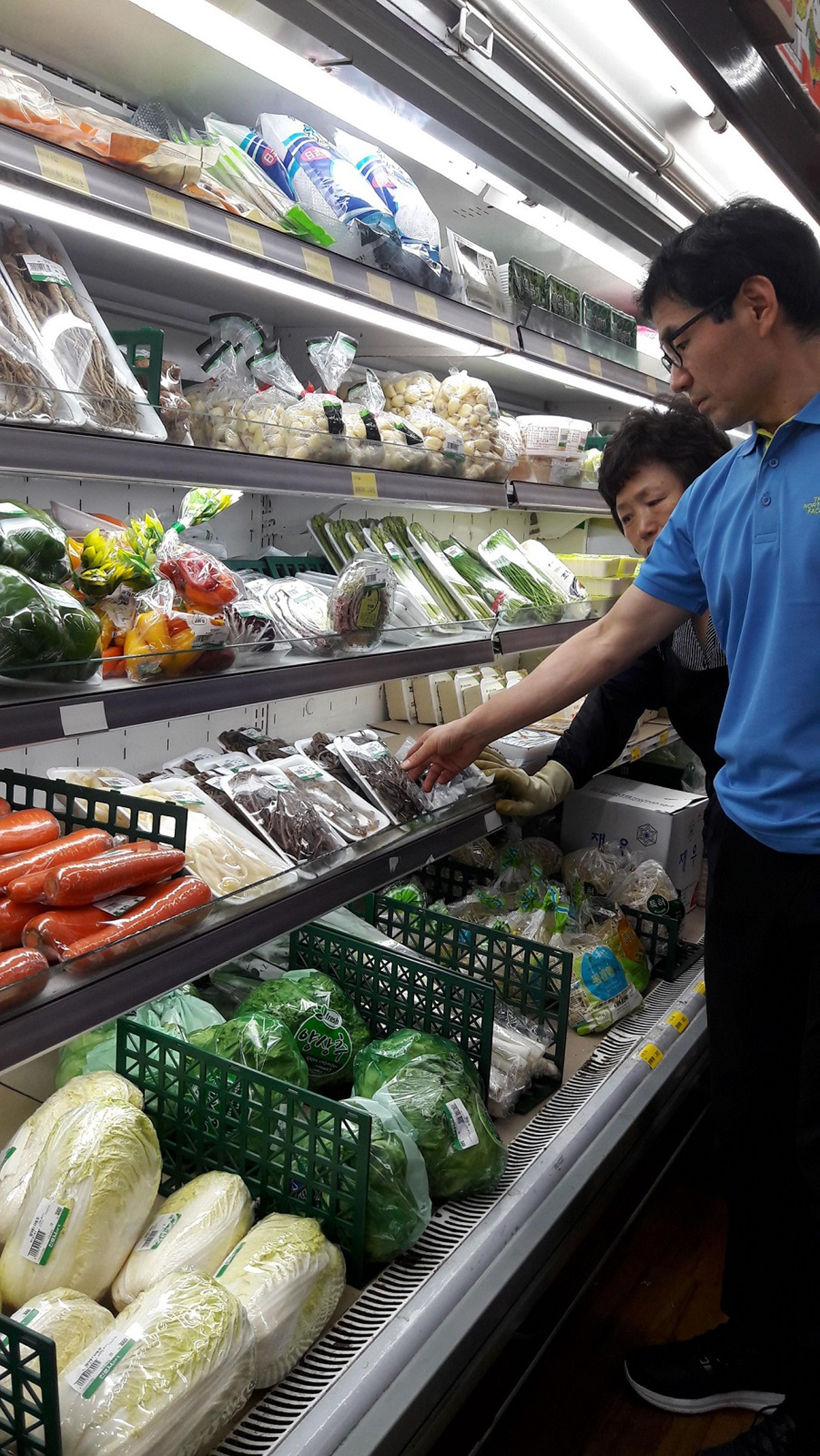 성남시 대형 식품판매업소 72곳 점검 벌여