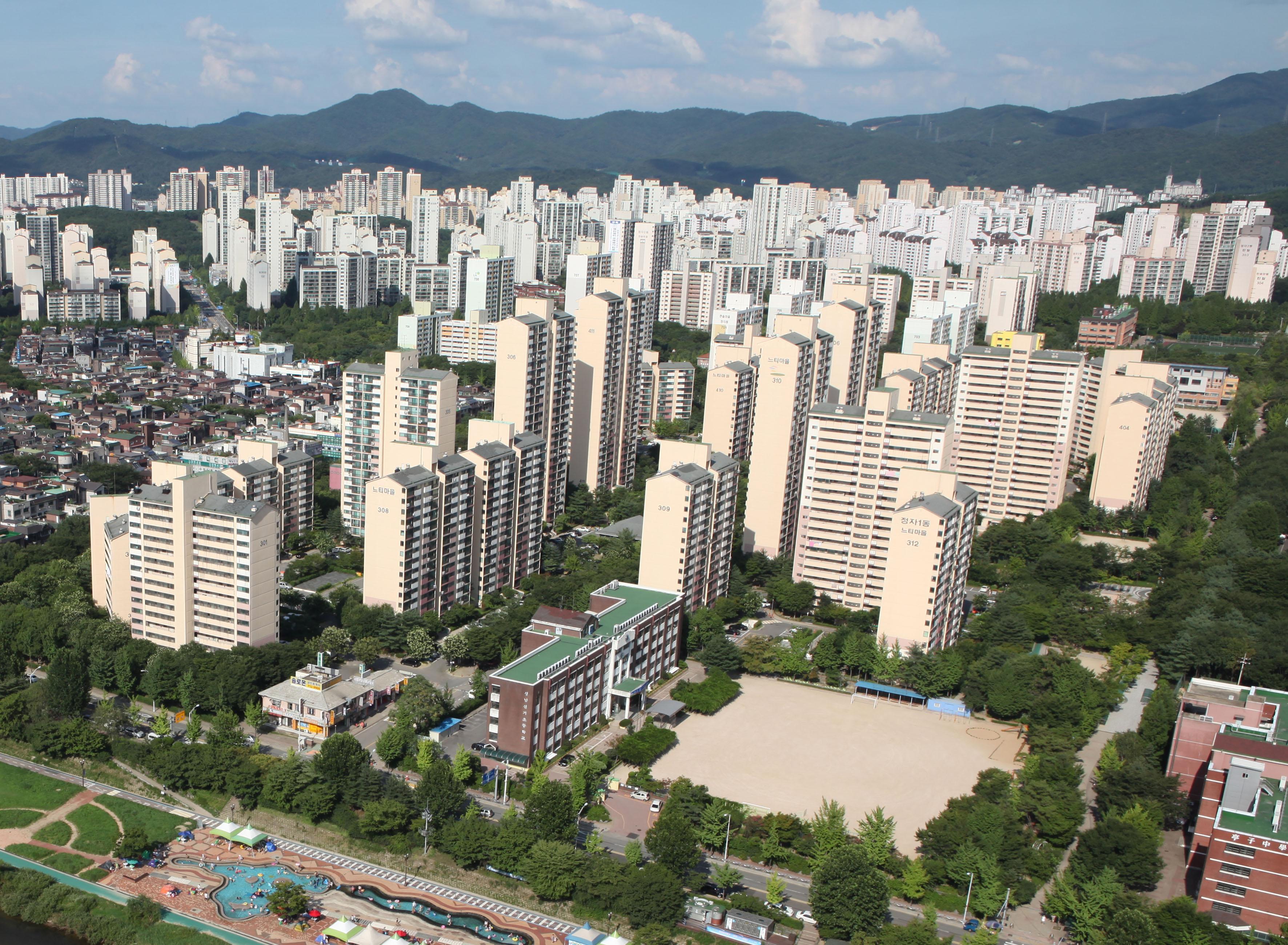 성남시 5년 전 공동주택 리모델링 기본계획 재정비한다