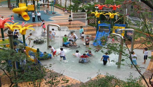 대원공원 물놀이장