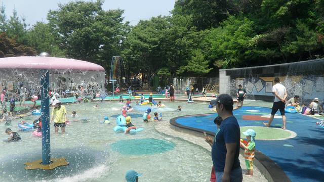 단대공원 물놀이장