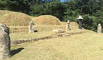 시향토문화재/평양조씨 석실공 조철산 묘역(平壤趙氏 石室公 趙鐵山 墓域) 이미지