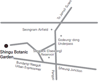 Shingu Botanic Garden Location