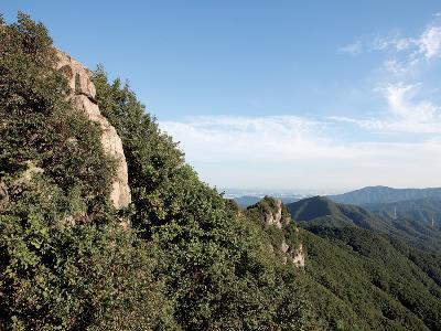 청계산 등산로